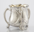 Silver Holloware, American:Loving Cup, AN AMERICAN SILVER THREE HANDLED LOVING CUP. Gorham Manufacturing Co., Providence, Rhode Island, 1905. Marks: (lion-anchor-G...
