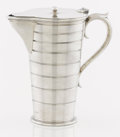 Silver Holloware, American:Pitchers, AN AMERICAN SILVER SYRUP PITCHER. Gorham Manufacturing Co.,Providence, Rhode Island, 1911. Marks: (lion-anchor-G),STERLI...