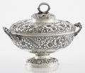Silver & Vertu:Hollowware, AN AMERICAN SILVER TUREEN WITH LID. Tiffany & Co., New York, New York, circa 1875. Marks: TIFFANY & CO., STERLING-SILVER, ... (Total: 2 Items)