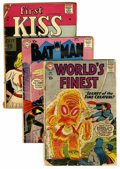 Silver Age (1956-1969):Miscellaneous, Miscellaneous Low Grade Silver/Golden Age Comics Short Box Group(Various Publishers, 1950s-60s) Condition: Average FR....