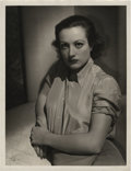 "Movie Posters:Drama, Joan Crawford by George Hurrell (MGM, 1930s). Still (10"" X 13"")....."