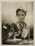 "Movie Posters, Norma Shearer by George Hurrell (MGM, 1930s). Still (10"" X 13"")....."
