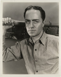 """William Powell in """"Shadow of the Law"""" by Otto Dyer (Paramount, 1930). Stills (28) (8"""" X 10""""). ... (T..."""