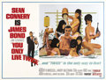 "Movie Posters:James Bond, You Only Live Twice (United Artists, 1967). Subway (44.5"" X 59"")....."