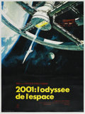 "Movie Posters:Science Fiction, 2001: A Space Odyssey (MGM, 1968). French Grande (47"" X 63"").. ..."