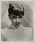 "Movie Posters:Romance, Audrey Hepburn Publicity Still (Paramount, early 1950s). Still (8"" X 10"").. ..."