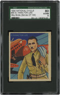 Non-Sport Cards:General, 1934 National Chicle Sky Birds E. Hamilton Lee #45 SGC 80 EX/NM6....