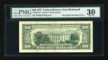 Error Notes:Third Printing on Reverse, Fr. 2072-E $20 1977 Federal Reserve Note. PMG Very Fine 30.. ...
