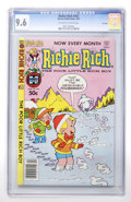 Modern Age (1980-Present):Humor, Richie Rich #201 File Copy (Harvey, 1981) CGC NM+ 9.6 Off-white towhite pages....