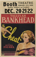 "Movie Posters:Drama, The Cheat (Paramount, 1931). Window Card (14"" X 22"").. ..."