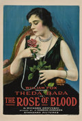 "Movie Posters:Drama, The Rose of Blood (Fox, 1917). One Sheet (27"" X 41"") Style A.. ..."
