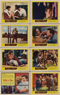 """Movie Posters:Film Noir, Killer's Kiss (United Artists, 1955). Lobby Card Set of 8 (11"""" X 14"""").. ... (Total: 8 Items)"""