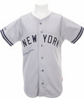 Autographs:Others, Circa 1990 Mickey Mantle Signed Jersey....