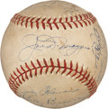 Autographs:Baseballs, 1951 New York Yankees Team Signed Baseball....
