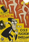 """Movie Posters:Comedy, Speak Easily (MGM, 1932). Swedish One Sheet (27.5"""" X 39.5"""").. ..."""