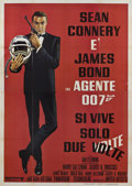 "Movie Posters:James Bond, You Only Live Twice (United Artists, 1967). Italian 4 - Folio (55""X 78"").. ..."