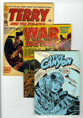 Golden Age (1938-1955):War, Miscellaneous Golden Age War Related Group (Various Publishers, 1947-59) Condition: Average VF-.... (Total: 11 Comic Books)