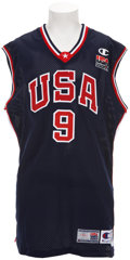 Basketball Collectibles:Uniforms, 2000 Vince Carter Summer Olympics Game Worn Uniform....