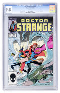Modern Age (1980-Present):Superhero, Doctor Strange #69 (Marvel, 1985) CGC NM/MT 9.8 White pages....