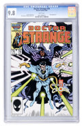 Modern Age (1980-Present):Superhero, Doctor Strange #78 (Marvel, 1986) CGC NM/MT 9.8 White pages....