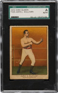 Boxing Cards:General, 1910 T223 Dixie Queen John L. Sullivan SGC_Authentic....