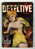 Pulps:Detective, Spicy Detective Stories February 1937 (Culture, 1937) Condition:GD/VG....