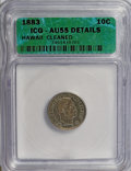 Coins of Hawaii, 1883 10C Hawaii--Cleaned--ICG. AU55 Details. NGC Census: (2/364).PCGS Population (6/416). Mintage: 7,674,673. Numismedia W...