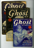 Pulps:Horror, Ghost Stories Group (McFadden, 1927-31) Condition: Average GD....(Total: 5 Items)