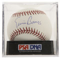 Autographs:Baseballs, Ernie Banks Single Signed Baseball PSA Gem Mint 10....