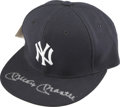 Autographs:Others, Mickey Mantle Signed Yankees Cap. ...