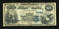 National Bank Notes:Alabama, Dothan, AL - $10 1882 Date Back Fr. 545 The First NB Ch. # (S)5249. ...