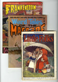 Magazines:Miscellaneous, Miscellaneous Magazines Group (Various Publishers, 1960s-80s)Condition: Average FN....