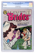 Silver Age (1956-1969):Romance, True Bride-to-Be Romances #15 File Copy (Harvey, 1955) CGC NM 9.4Cream to off-white pages....
