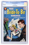 Silver Age (1956-1969):Romance, True Bride-to-Be Romances #28 File Copy (Harvey, 1958) CGC NM 9.4Off-white pages....