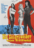 "Movie Posters:Adult, Faster, Pussycat! Kill! Kill! (Eve Productions, 1965). Autographed German A1 (23"" X 33"").. ..."