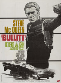 "Bullitt (Warner Brothers, 1968). French Grande (47"" X 63"")"