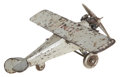 Antiques:Toys, Hubley Cast Iron Lindy Airplane....