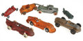 Antiques:Toys, Lot of Seven Vintage Toy Vehicles.... (Total: 7 Items)