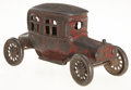 Antiques:Toys, A. C. Williams Four Passenger Auto Still Bank....