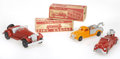 "Antiques:Toys, Trio of Hubley ""Kiddie-Toy"" Die Cast Vehicles.... (Total: 3 Items)"