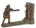 Antiques:Toys, Cast Iron William Tell Mechanical Bank....