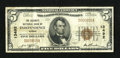 National Bank Notes:Kansas, Independence, KS - $5 1929 Ty. 1 The Security NB Ch. # 13492. ...