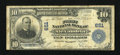 National Bank Notes:Virginia, Alexandria, VA - $10 1902 Plain Back Fr. 624 The First NB Ch. #651. ...