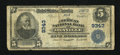 National Bank Notes:Virginia, Danville, VA - $5 1902 Plain Back Fr. 600 The American NB Ch. #9343. ...