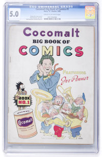 Cocomalt Big Book of Comics #1 (Chesler, 1938) CGC VG/FN 5.0 Cream to off-white pages