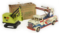 Antiques:Toys, Marx Heavy Duty Power Shovel and Guided Missile Truck.... (Total: 2 Items)