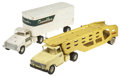 Antiques:Toys, Tonka Gambles Department Store Truck and Auto Transporter.... (Total: 4 Items)