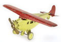 Antiques:Toys, Steelcraft Pressed Steel Airplane with Rotating Propeller....
