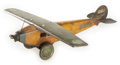 Antiques:Toys, Steelcraft Army Scout Plane NX 107....