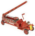 Antiques:Toys, Keystone Sit-N-Ride Water Tower With Real Pumper Fire Truck....
